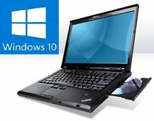 "Lenovo ThinkPad t400, 14,1"" 16:10, Intel Core Duo 2,26ghz, 2gb, win10 Windows 10"