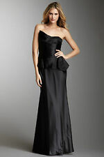 Laundry by Shelli Segal Black Strapless Formal Gown Dress Size 2 NWT $365