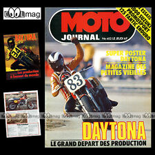 MOTO JOURNAL N°402 TRIAL ULF KARLSON SUZUKI GS 1000 FANTIC 125 RC DAYTONA 1979