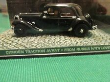 JAMES BOND CARS COLLECTION 040 CITROEN TRACTION AVANT FROM RUSSIA WITH LOVE