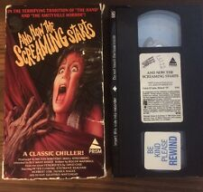 And Now The Screaming Starts VHS Movie Prism Ebtertainment Cult Horror Tested