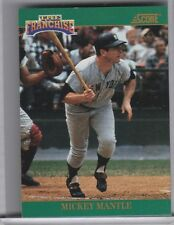1992 SCORE #2 MICKEY MANTLE THE FRANCHISE NEW YORK YANKEES HOF A216