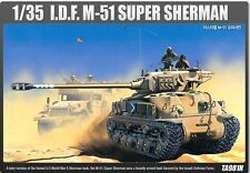Academy 1/35 Israel Midium Tank M-51 Super Sherman Plastic Model Kit 13254