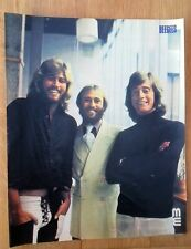 BEE GEES '3 smiling guys' magazine PHOTO/Poster/clipping 12x10 inches