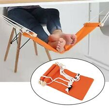 Portable Novelty Mini Office Foot Rest Stand Adjustable Desk Feet Hammock F5