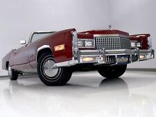 Cadillac: Eldorado Convertible