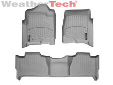 WeatherTech® Floor Mats FloorLiner - GMC Yukon w/ Bench Seats - 2007-2014 - Grey