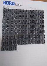 Korg SP-170 Key Rubber Contact SET  7pcs 12P + 1pc 4P - Genuine Korg Spare Part