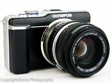 Olympus PEN E-PL1 12.3 MP Digital Camera - 50mm F1.8 Lens + everything you need
