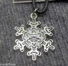 NEW Pacific Northwest Comox Indian Art Design by Andy Everson SNOWFLAKE NECKLACE