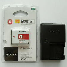 NP-BG1 Battery & BC-CSGB Charger For Sony DSC-W200 W55 W70 W80 W90 T100 H9 N1 N2