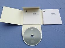 Apple iPod Mini Users Guide and Original CD