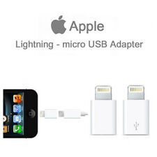 Original & Genuine Lightning to Micro USB Adapter for 5s 6 6s Cable (MD820ZM/A)