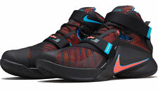 Nike Lebron Soldier IX EP 9 James Black Orange Mens Basketball Shoes 749417-084