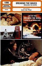 Movie Card. Fiche Cinéma. Breaking the waves (Danemark) Lars von Trier 1996