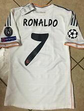 Spain Real Madrid Uefa Ronaldo Formotion Shirt Player Issue Jersey Match Unworn