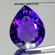 AFRICAN AMETHYST PEAR CUT 15X10  MM ALL NATURAL