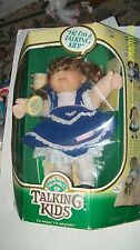 CABBAGE PATCH KIDS DOLL TALKING GIRL HTF. HANDSIGNED! COMPLETE AS SEEN WORKS BOX