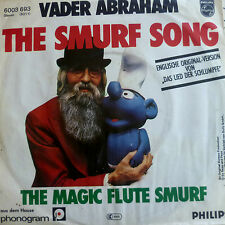 "7"" VADER ABRAHAM SUNG ENGLISH ! The Smurf Song /MINT-?"