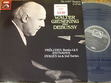 RLS 752 Gieseking plays Debussy 2 LP set