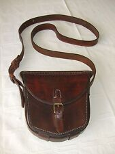 WWII Vintage German M95Mannlicher Military Hunting Saddle Leather Ammo BagPouch