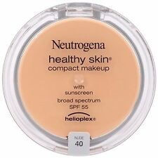 1 Neutrogena Nude 40 Healthy Skin Compact Makeup Helioplex NEW & SEALED SPF 55
