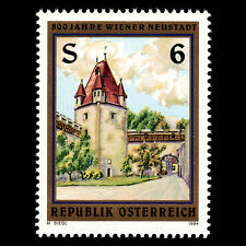 Austria 1994 - 800th Anniv of Wiener Neustadt Architecture - Sc 1640 MNH