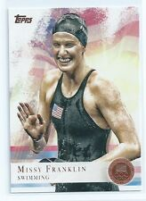 Missy Franklin 2012 Topps USA Olympic BRONZE Card #59