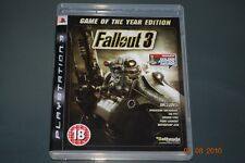 Fallout 3 Game of the Year Edition PS3 Playstation 3 **FREE UK POSTAGE**