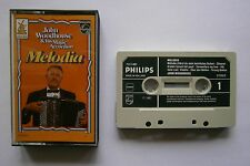 Cassette John Woodhouse & His Magic Accordion - Melodia Holland Philips Nm 1980