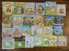 Lot 24 Spring Easter Bunny Rabbits Children's Picture Books Holiday Theme