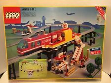 LEGO 6399 AIRPORT SHUTTLE MONORAIL COMPLETE - WITH ORIGINAL BOX AND MANUAL!