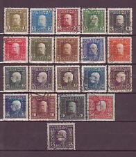 Österreich  Bosnien-Herzegowina 1912: (D) Freimarken Kaiser Franz Joseph 64-83