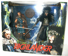 HIGHLANDER Medieval Box Set - Burgan & MacLeod Actionfigur NECA Neu (L)
