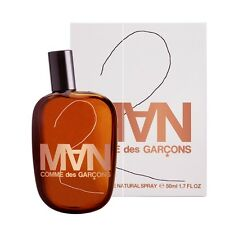 Comme des Garcons 2 MAN 100ml (3.4 Fl.Oz) Eau De Toilette EDT NEW & CELLO SEALED