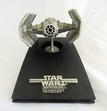 Vintage Star Wars Rawcliffe Fine Pewter Tie Fighter RF950 - LE #117 of 15000