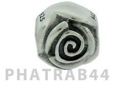 Authentic Pandora Sterling Silver Rose Charm 790394