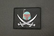 Boba Fett Calico Jack Morale Patch Mandalorian Bounty Hunter Star Wars VELCRO®