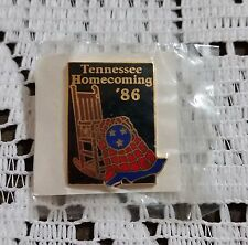 STATE OF TENNESSEE HOMECOMING '86 HAT LAPEL PIN