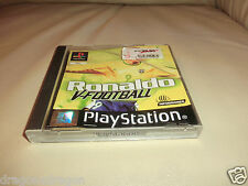 Ronaldo V-Football (PlayStation One) inkl. Anleitung, PAL