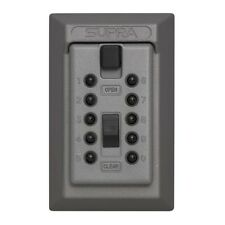 Key Storage Cabinet Push Button Combination Lock Box Wall Mount Safe Home Office