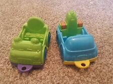 Lot of 2 Vtech Smartville Replacement animal Cars tow truck