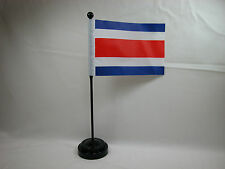 """4""""x6"""" Hand Held  or Table Top Flags International Country Flag - Costa Rica"""