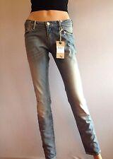 MAISON SCOTCH Skinny Blue Jeans  Rip Knee W28 L32 Size 10 Rrp £110 Ff25