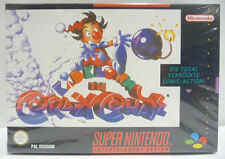 KID KLOWN IN CRAZY CHASE - SNES SUPER NINTENDO PAL BOXED NEW
