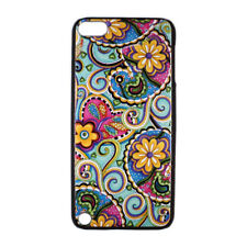 Paisley Floral Pattern Hard Case Cover for Apple iPod Touch 5 gen 5th Generation