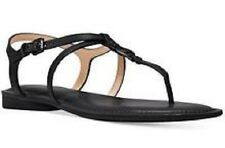 MICHAEL KORS WOMEN'S BETHANY FLAT STRAPPY LEATHER SANDALS SIZE 7M 47-3-1148