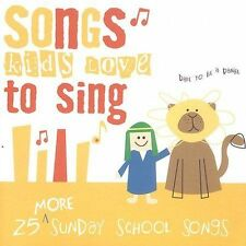 FREE US SH (int'l sh=$0-$3) NEW CD Songs Kids Love to Sing: More Sunday School S