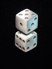 """JJ"" Jonette Jewelry Silver Pewter 'Roll the DICE ~ Lucky Seven' Pin"