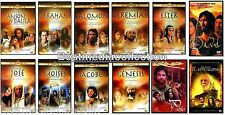 LA BIBLIA La Historia De Jose - Jeremias - Salomon Pablo - Moises DVD NEW 12 PK